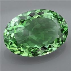 Natural Healing Green Color Amethyst 27.50 Cts - VVS