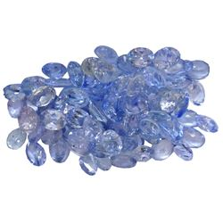 12.24ctw Oval Mixed Tanzanite Parcel