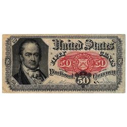 1875 50 Cent Fractional United States Currency Note