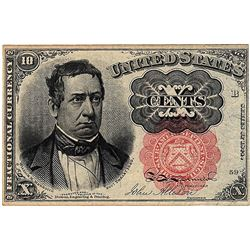 1874 10 Cent Fractional United States Currency Note