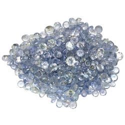 25.12ctw Round Mixed Tanzanite Parcel