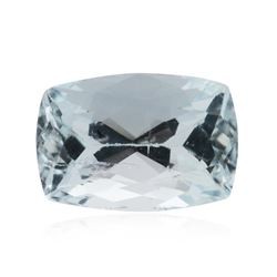 7.27ct Cushion Cut Natural Cushion Cut Aquamarine