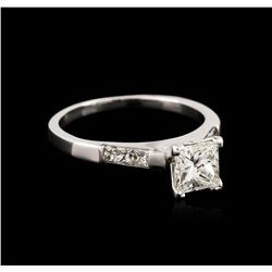 14KT White Gold 1.39ctw Diamond Ring