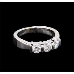1.04ctw Diamond Ring - 14KT White Gold