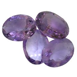 29.78ctw Oval Mixed Amethyst Parcel