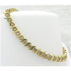2.75ctw Diamond Bracelet - 10KT Yellow Gold