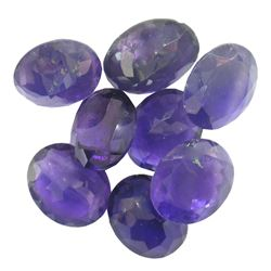 36.81ctw Oval Mixed Amethyst Parcel