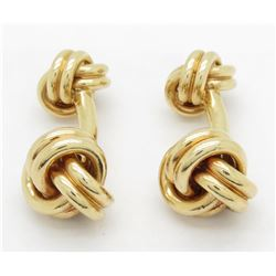 14KT Yellow Gold Tiffany & Co. Cuff Links