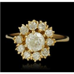 1.49ctw Diamond Ring - 18KT Yellow Gold