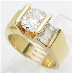2.01ctw Diamond Ring - 18KT Yellow Gold