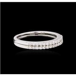 0.30ctw Diamond Ring Set - 18KT White Gold