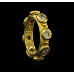 1.47ctw Diamond Ring - 22KT Yellow Gold