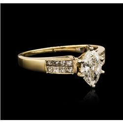 14KT Yellow Gold 1.35ctw Diamond Ring