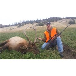 *Montana – 5 Day – Bull Elk Hunt for One Hunter