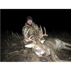 *Kansas – 5 Day Whitetail Hunt for One Hunter