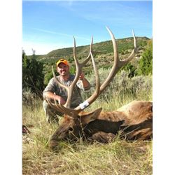 *Colorado – 5 Day – Semi-guided, Archery Elk and Black Bear Hunt for One