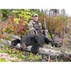 *British Columbia – 5 Day – Black Bear Hunt for One Hunter
