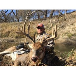 *Kansas – 4 Day Rifle or 5 Day Archery Whitetail Deer Hunt for One Hunter