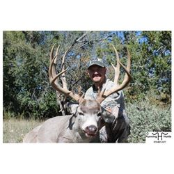 *New Mexico – 5 Day – Desert Mule Deer Hunt for One Hunter