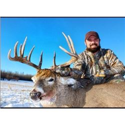 *Alberta – 6 Day – Archery Whitetail Deer Hunt for One Hunter