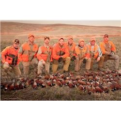 *South Dakota – 2 Day – Pheasant and Hungarian Partridge Hunt for Five Hunters