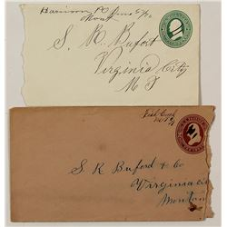 Two Nice Madison County Territorial Manuscript Covers