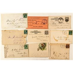 Nicer Fort Territorial Postal History Collection