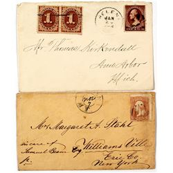 Two Interesting Helena Territorial Covers