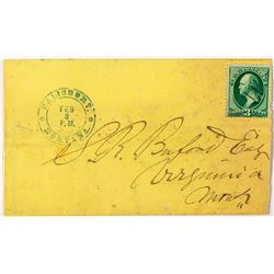 Short-lived Salsbury, Madison Territorial Cover