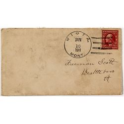 Two-Year Post Office Cover: Wiota, Valley County