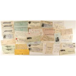 Butte Check & Card Collection