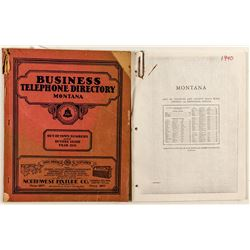 1931 Montana Business Directory