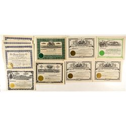 Montana Hardware & Mercantile Stock Certificates