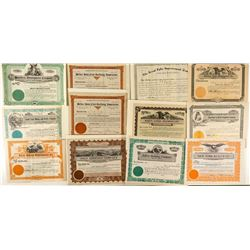 Montana Improvement / Realty Company Stock Certificates