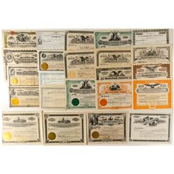 Montana Misc. Products Stock Certificates