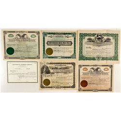 Montana Cars & Boats Stock Certificates