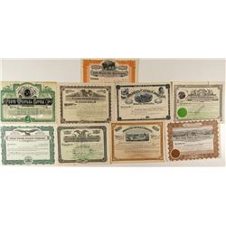 Montana Cattle Ranching Stock Certificates