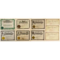 Montana Food Company Stock Certificates