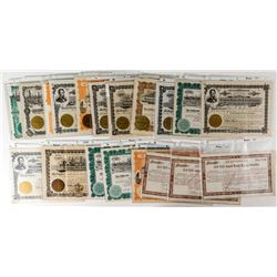 Montana Oil Stock Certificate Collection