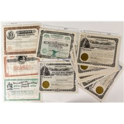 Montana Power Company Stock Certificates