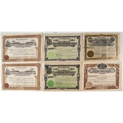 Six Anaconda Mining Stock Certificates