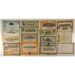Fifteen Butte Mining Stock Certificates
