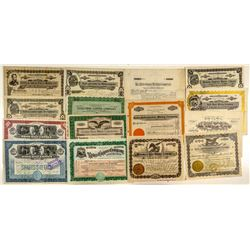 Another 15 Different Butte Mining Stock Certificates