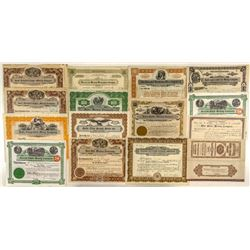 Fourteen Butte Mining Stock Certificates