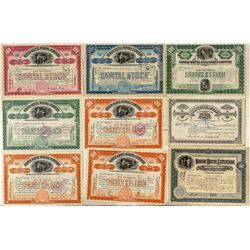 North Butte Mining Stock Certificates
