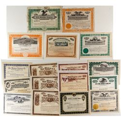 Unissued Montana Stock Certificate Collection 2