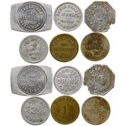 Six Basin Tokens (Basin, Montana)