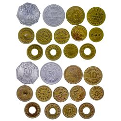 Thirteen Big Sandy Tokens (Big Sandy, Montana)