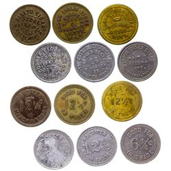 Butte Cigar Store Tokens (Butte, Montana)