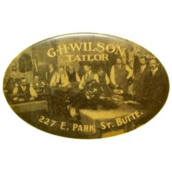 G.H. Wilson Tailor Advertising Mirror (Butte, Montana)